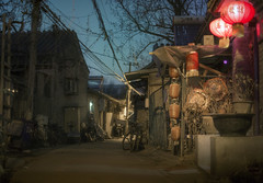 Get Cured (inhiu) Tags: china street longexposure light urban night nikon beijing hutong d800 inhiu
