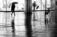 (Px4u by Team Cu29) Tags: street urban reflection wet rain night umbrella munich mnchen nacht spiegel spiegelung regen strase