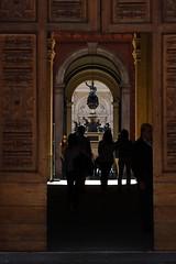 Palazzo Carignano - portone (ClarenceClemons) Tags: door shadow silhouette torino italia ombra piemonte porta palazzo turin portone storia passaggio carignano