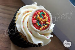 Pizza Cupcake! (Baked. Cupcakery) Tags: birthday cakes cake newcastle cupcakes durham north east pizza novelty cupcake sunderland supplier occassion bakedcupcakery