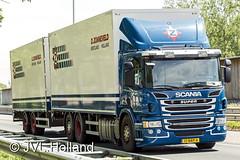Scania P400   NL  D.ZONNEVELD 160721-182-c1 JVL.Holland (JVL.Holland John & Vera) Tags: scaniap400 nl dzonneveld truck transport vervoer netherlands nederland holland europe canon jvlholland