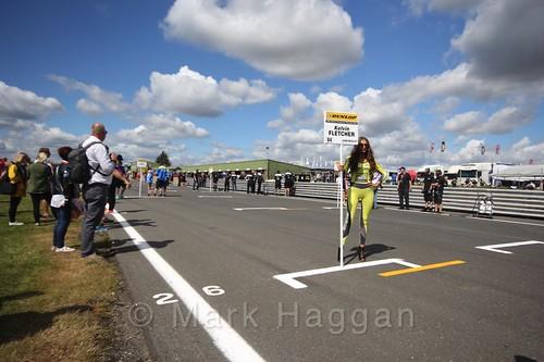 Kelvin Fletcher's car during the Grid Walks at the BTCC 2016 Weekend at Snetterton