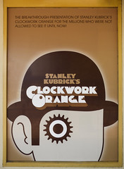 Stanley Kubrick's Clockwork Orange (Steve Taylor (Photography)) Tags: monocolor monocolour newzealand nz southisland nelson stanleykubrick clockworkorange eye bowler hat banned