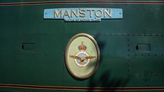 Harmans Cross Station 10 (Matt_Rayner) Tags: swanage railway 34070 manston sr battle of britain class steam train