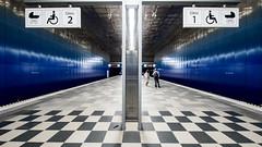 U-Bahn Station Uberseequartier01 (p.schmal) Tags: olympuspenepl7 hamburg hafencity berseequartier ubahn