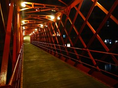 Eiffel bridge in Girona at night (jackfre 2) Tags: catalunya spain girona bridge ironbridge eiffelbridge eiffel gustaveeiffel night