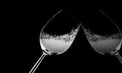 Reflection (eleonoralbasi) Tags: macromonday mirror inthemirror blackandwhite glass reflections bw stilllife