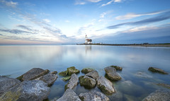 Paard van Marken (tms\) Tags: sunset marken lighthouse netherlands
