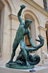 Bronzes (tokyobogue) Tags: paris louvre france museedulouvre museum art gallery statue puget bronze nikon d7100 nikond7100