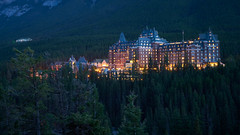 Fairmont Banff Springs Hotel (Erik Pronske) Tags: rimrockresorthotel banffnationalpark resort canadianrockies rockymountains banff mountains architecture canada fairmontbanffspringshotel landmark alberta nationalpark ca