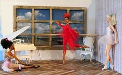 omg, it's misty copeland !!! (photos4dreams) Tags: omgitsmistycopelandp4d itsmistycopelandp4d omg mistycopeland ballet star dancer primal ballett tnzerin barbie mattel doll toy diorama photos4dreams p4d photos4dreamz barbies girl play fashion fashionistas outfit kleider mode puppenstube tabletopphotography aa beauties beautiful girls women ladies damen weiblich female dancers tnzerinnen ballerina firstafricanamericanfemaleprincipaldancerwiththeprestigiousamericanballettheatre principaldancer primaballerina firebird feuervogel phoenix