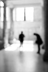 mirage (donvucl) Tags: london va figure figures blur fujix100s bw blackandwhite donvucl