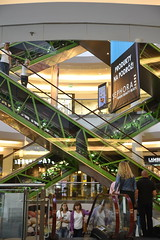 """X"" at a Warsaw mall (SpirosK photography) Tags: poland warsaw warszawa   x mall escaleras stairs"