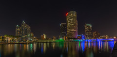Tampa Wide from Plant Park (Photomatt28) Tags: beercan effects florida hdr hillsboroughriver nik processing reflection rivergatebuilding skyline sykesbuilding tampa tampariverwalk
