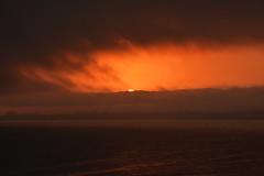 Sunset Over Santa Cruz 9 (227/366) (C.M. Keiner) Tags: santa cruz california pacific ocean sunset clouds fog summer beach coast