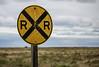 Bowdoin Railroad Crossing (Tony Webster) Tags: bowdoin bowdoinnationalwildliferefuge montana rrcrossing railroad railroadcrossing sign weathered malta unitedstates us