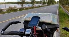 Cockpit , mit Garmin auf Spur (Gerrit Berlin) Tags: fahrrad berlin backpacking bicycle bike finnland karelien ortlieb cube fahrradflckner outdoor reisen travel biketrip bicycletrip finland ostkarelien garmin fenix3 cockpit touring gps glonass