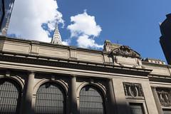 GCT and Chrysler (wwward0) Tags: architecture bluesky building cc chryslerbuilding cloud grandcentralterminal manhattan midtown nyc sunny wwward0 newyork unitedstates us