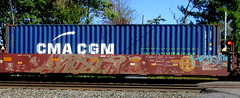 hest '01 - jarue (timetomakethepasta) Tags: hest nme paris jarue freight train graffiti art intermodal bnsf