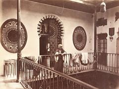 A Court. Tetouan, Morocco 1870 (Benbouzid) Tags: tetouan        maroc