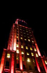 Pink-Price (Alan McCollough) Tags: halloween cityhall hotel de ville smog pink breastcancer