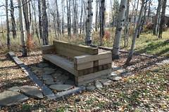 HBM Happy Bench Monday (davebloggs007) Tags: hbm happy bench monday water valley alberta canada