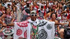 (__sam) Tags: lavage de la madeleine paris france brazilian dance drums music street colors cloudy performance people portraites