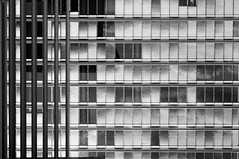 L'ordine  cos prevedibile (bbettapelucchi) Tags: bw architecture luxemburg lussemburgo europe summer rational parallel lines line windows ordine caos divided photography passion friends hoolidays memories places city look