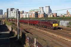 57313 Miles Platting 17th September 2016 (John Eyres) Tags: 57313 tt 47245 leaving manchester victoria with 1z94 0813 preston buxton vice steam 170916 miles platting