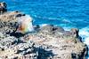 rainbow blowhole (Ben McLeod) Tags: hawaii nakaleleblowhole pacificocean coast lavarock ocean rainbow