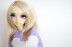 Au Natural (Frappzilla) Tags: minifee mnf rfa bjd abjd soy wig