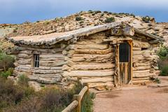 Wolfe Cabin (Serendigity) Tags: utah landscape desert archesnationalpark nature nationalpark cabin unitedstates usa heritage outdoors