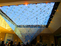 inverted pyramid - The Louvre (bronxbob) Tags: museums art artmuseums paris france thelouvre