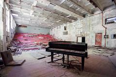 The Day the Music Died (franconiangirl) Tags: pripyat pripjat tschernobyl chernobyl abandoned decay derelict klavier piano verlassen chernobylexclusionzone oblastkiew tschornobyl ukraine saal ehemalig ghosttown geisterstadt musicschool припять україна чорнобиль sperrzone tschernobylsperrzone chornobyl udssr cccp saiteninstrument marode abandoneé