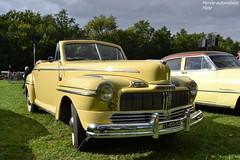 Mercury Eight (Monde-Auto Passion Photos) Tags: auto automobile mercury eight cabriolet jaune france 48h montargis villemandeur domaine lisledon