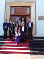 Besuch bei der Friedrich-Ebert-Stiftung in Tirana