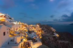 Oia! (fotoshane) Tags: greece greek village oia island santorini thira caldera sunset dusk landscape fotoshane
