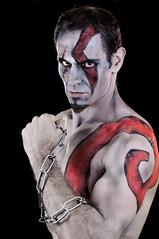 con cadenas (Santi BF) Tags: kratos maquillaje makeup flash estudio
