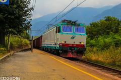 FS E652.128 (DavideEos) Tags: eisenbahn ferrovia railway treno train zug merci freight binari domodossola sempione