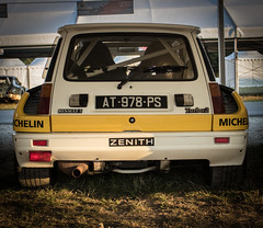 Renault 5 Turbo 2 Groupe B (Thomas BRETON - Photomgraphy) Tags: renault sport r5 turbo2 turbo groupe b grpb oldtimer youngtimer ancienne coche vehicle wagen car cars racecar racing motorsport history classic racingcar speedway raceway racetrack circuit ring autodromo autodrome worldcar worldcars canon eos 600d dslr 70200 ef usm ultrasonic adobe lightroom vignetting vignettage photography photo photograhie light
