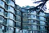 Home (himanshu_07) Tags: shimla himachal destination travel blog diary green building outdoor hut live life mountain trip india symmetry architecture day people arch flick view