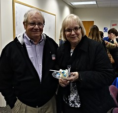 A fond farewell to Therese upon her retirement (Geauga County Public Library) Tags: retirement party cake