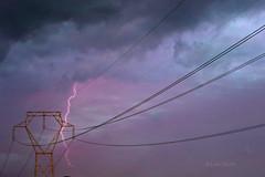 Rayos y truenos!! (Lidia Martn) Tags: rayos tormentas sky cielo paisaje natura naturaleza