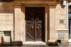 Another doorway (PChamaeleoMH) Tags: ciutadella door doorhandle menorca street