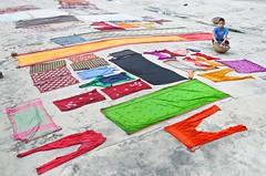 Drying clothes! (ashik mahmud 1847) Tags: bangladesh d5100 nikkor colorful cloth boy kid pattern texture