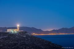 El faro (Puerto de Mazarrn) (Jos Marn) Tags: mazarrn murcia puerto de mazarn espaa spain mar mediterraneo faro