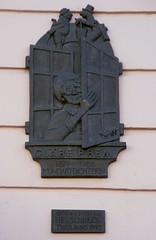 Trier, Hauptmarkt, Gedenkplatte fr die Mundartdichterin Clre Prem (memorial for the dialect poetess Clre Prem) (HEN-Magonza) Tags: trier rheinlandpfalz rhinelandpalatinate deutschland germany hauptmarkt centralmarket gedenkplatte clreprem memorial