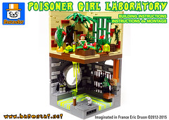 POISONER-GIRL-COVER (baronsat) Tags: lego batman custom instructions model moc dc gotham