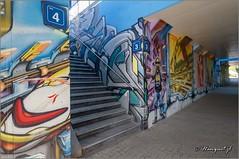 Herstal (hanquet jeanluc) Tags: 2016 herstal tags graffitis fresque gareherstal qdub liege belgium be
