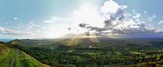 Lights and Shadows from the Malverns (gwenael.blanck) Tags: malvern hills sunray